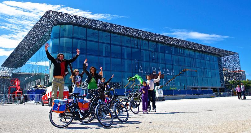 Mucem Marseille journée du vélo