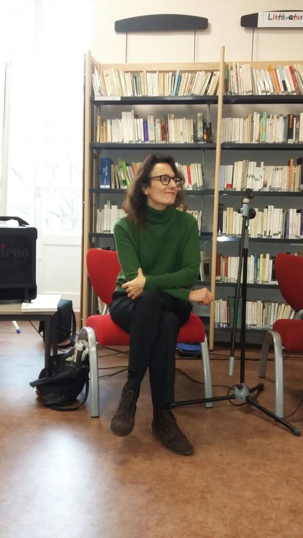 Célia Houdart à l'écoute